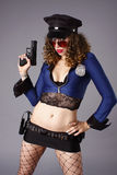 Police woman Royalty Free Stock Photo