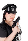 Police woman Royalty Free Stock Image