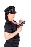 Police woman Stock Images