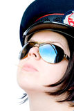 Police woman Stock Image