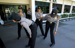 Police women Stock Photo