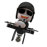 Policedrone. Royalty Free Stock Photos