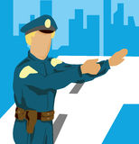 Policeman Stock Photo