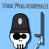 The Policeman 2. An illustration of a police officer Royalty Free Stock Images