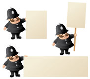 Policeman Announces Royalty Free Stock Image