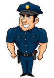 Policeman cartoon Royalty Free Stock Photo