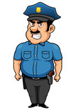 Policeman cartoon Royalty Free Stock Photography