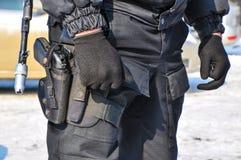 The policeman on duty Stock Photos
