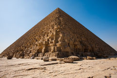 Policeman Guard Pyramid Cheops Khufu Royalty Free Stock Images