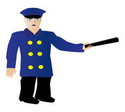 Policeman icon Royalty Free Stock Image