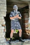 Policeman in mask 10 Stock Photos