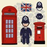 Policeman. Stock Image