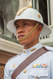 Policeman in Thailand. Policeman portrait during a police parade. Bangkok, Thailand Stock Images