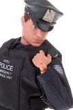 Policeman toy doll Royalty Free Stock Photos