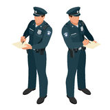 Policeman in uniform. Policeman icon. Policeman vector. Royalty Free Stock Photography