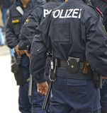 Policemen on Duty Royalty Free Stock Photo