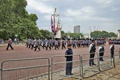 Policemen On Guard Royalty Free Stock Photos