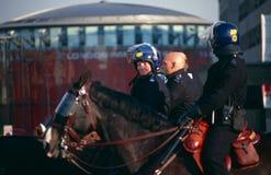 Policemen in London Stock Photography
