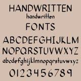 Polices de calligraphie Photographie stock libre de droits