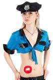Policewoman Stock Image