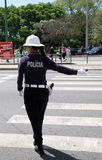 policewoman Royaltyfri Fotografi