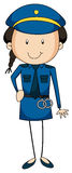 Policewoman Royalty Free Stock Photography