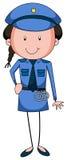 Policewoman Royalty Free Stock Photos