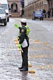 Policière. Images libres de droits