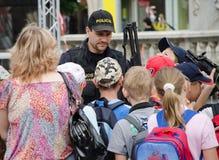 Policie Brno della tana Immagine Stock