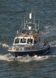 Policie a patrulha marítima Fotos de Stock Royalty Free