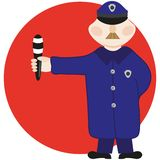 Policier Photo libre de droits