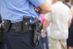 Policier Photographie stock libre de droits