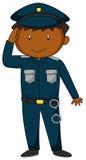 policier Images libres de droits