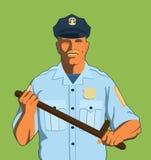 Policier illustration stock