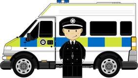 Policier britannique mignon illustration libre de droits