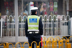 Policier chinois Photo libre de droits
