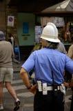 Policier de Florence Image libre de droits