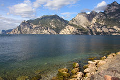 Lago di Garda Photo stock