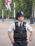 Policier de Londres Photo stock