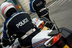 Policier français Photo stock