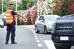 Policier italien carabinier Photo libre de droits
