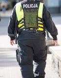 policier polonais Photo libre de droits
