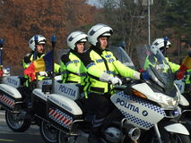 Policier roumain Photographie stock