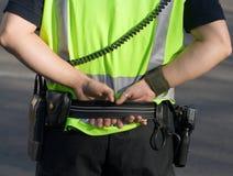 Policiers Photos libres de droits