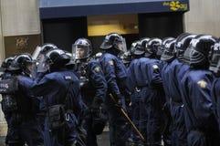 Policiers d'élite. Image libre de droits