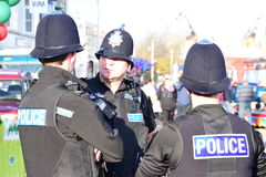 Policiers de Devon et des Cornouailles Photographie stock