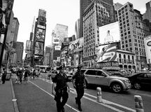 Policiers de New York City Images stock