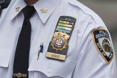 Policiers sur les rues Photographie stock libre de droits
