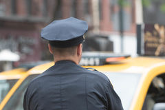 Policiers sur les rues Images stock