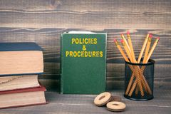 Policies and Procedures concept royalty free stock photo